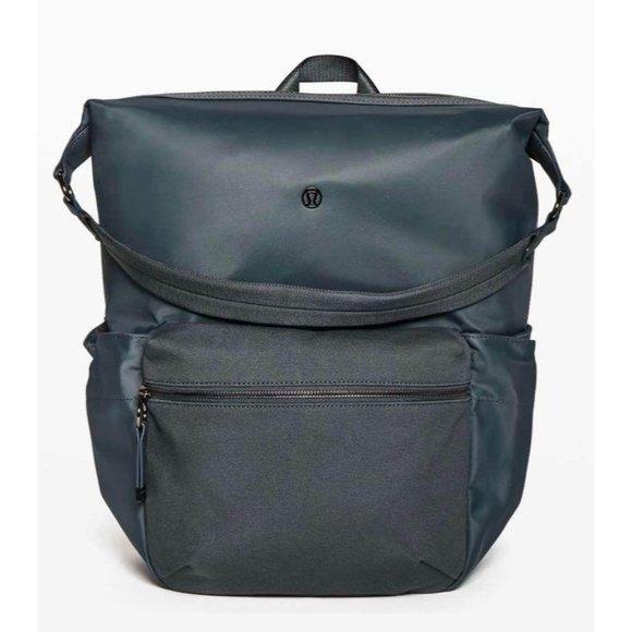 Lululemon easy days backpack brand new NWT hard to